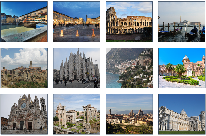 Custom itineraries to Italy